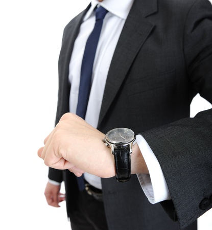 Watch wrist hand business man photo