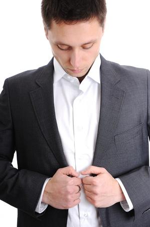 tailored: Man wearing suit