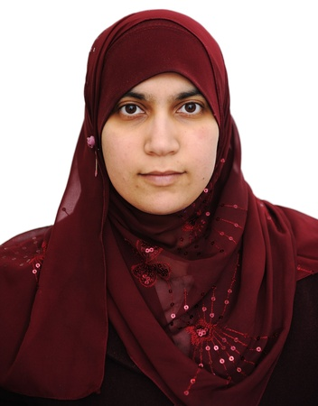 Muslim Arabic woman portrait Stock Photo - 14580441