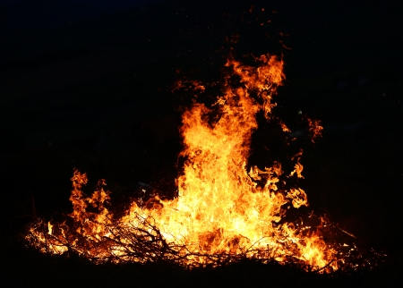 Big fire photo