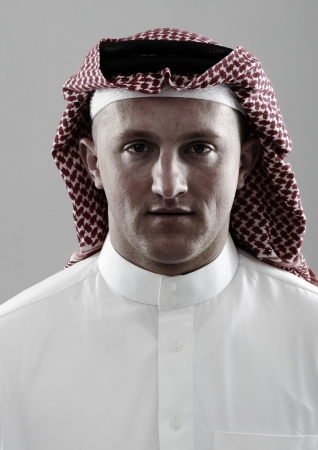 Arabic man portrait photo