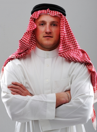 middle eastern ethnicity: Arabic man portrait