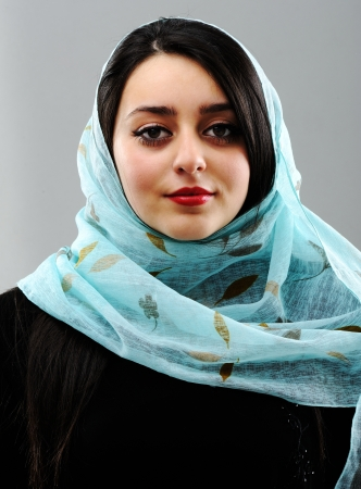 youth culture: Arabic woman Stock Photo