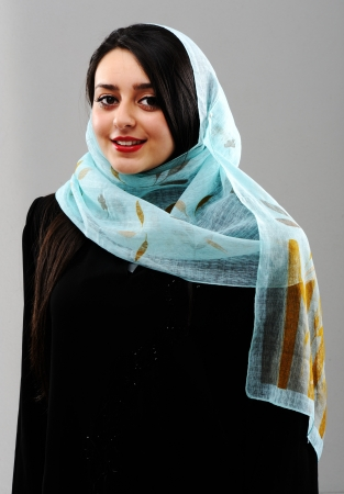 pakistani females: Arabic woman Stock Photo