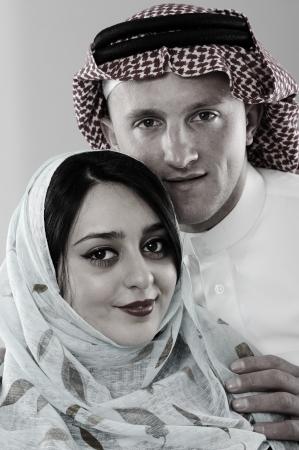 soulmate: Arabic couple, wife and husband