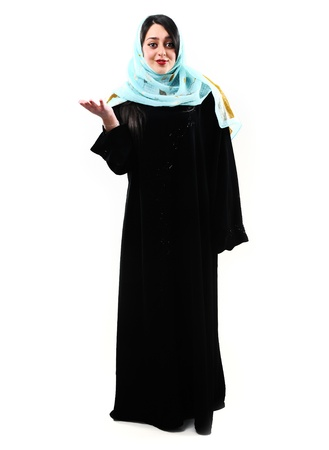 middle eastern ethnicity: Arabic woman Stock Photo