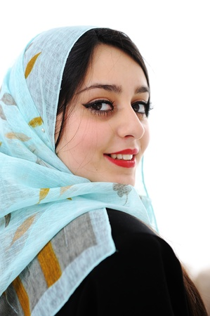 arab girl: Arabic woman Stock Photo