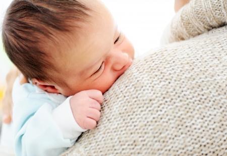 mixed race baby: Newborn baby
