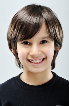 arabic boy: Kid portrait Stock Photo