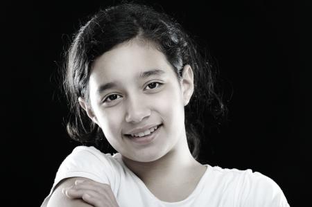 preteen girl: Girl portrait