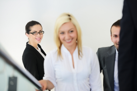 Successful business people photo