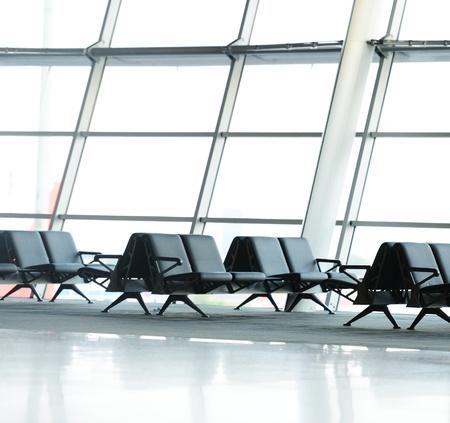 Hallway of airport Stock Photo - 18478431