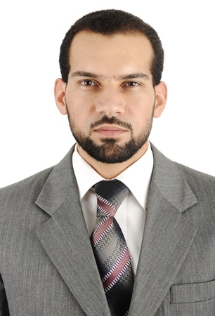 Businessman portrait photo