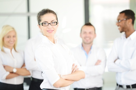 succesful: Successful business people