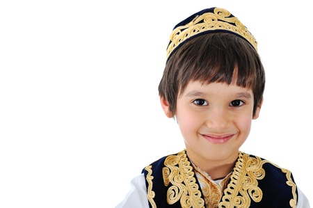 welldressed: Portrait of a well-dressed middle-eastern kid