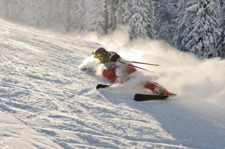 offpiste: Skier