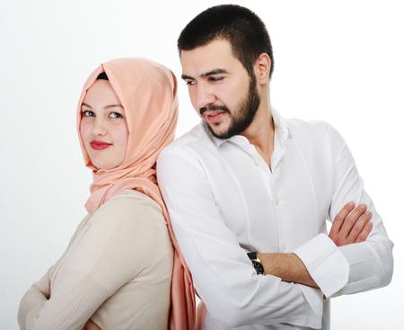 아랍어 몇 함께