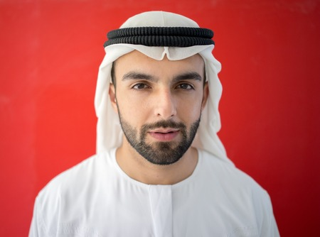 Arabic man from Emirate of Dubai
