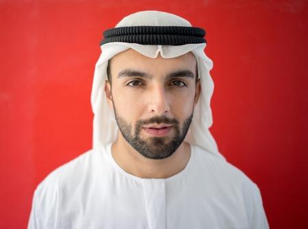 Hombre árabe del Emirato de Dubai