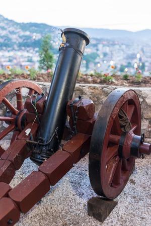 sarajevo: Traditional Sarajevo cannon for iftar announcing