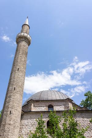 cemetry: Mosque Stock Photo