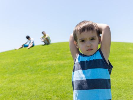 kids background: Kid in nature