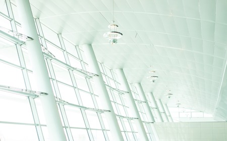 glass ceiling: Large light white window modern background