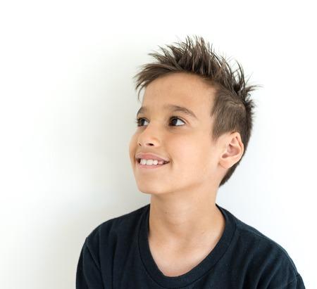 Boy face Stock Photo
