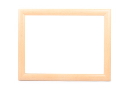 frame isolated on white background  photo