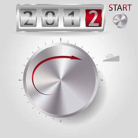 2012 neue Jahr Lautst�rkeregler