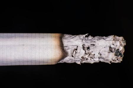 quemadura: Quemadura de cigarrillo