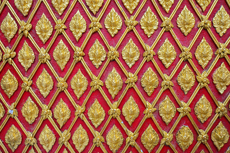 thai motifs: golden thai style pattern traditional