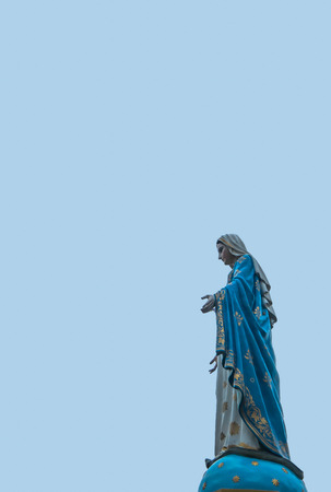 sanctified: Mother Mary statue