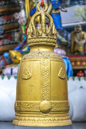 yoke: Temple bell in Thailand