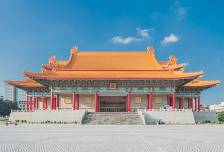 ancient architecture: National music Hall of Taiwan