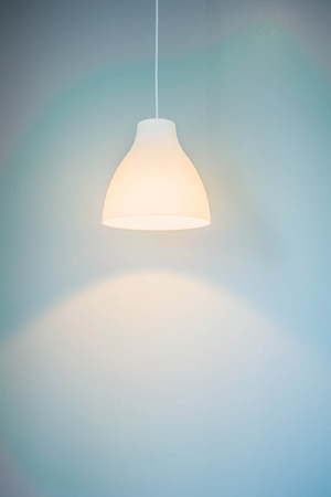 lampshades: Lampshades in bedroom
