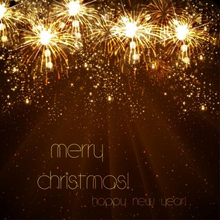 wish of happy holidays: Happy New Year celebration background