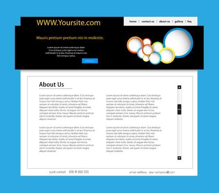 Web Design Modern Website  Illustration