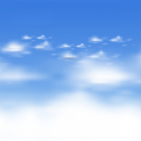 cloud vector background Stock Vector - 17899261