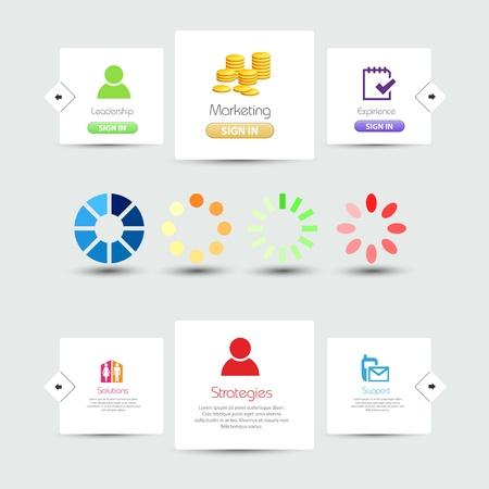 scrollbar: Decorative website elements, easy editable