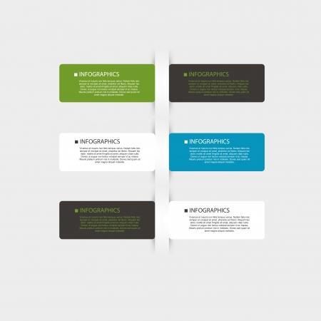 Business bubble speech template vector, easy editable eps10 Illustration