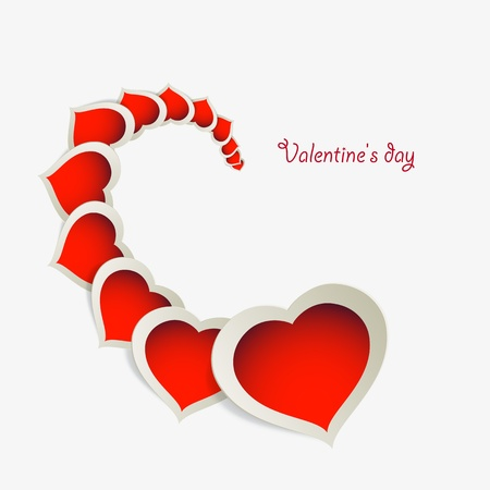 valentine's: Valentine s day background, vector illustration