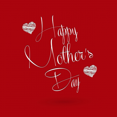 Happy mother s day, easy editable Illustration