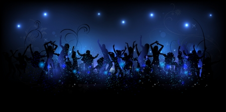 Party background Illustration Vector