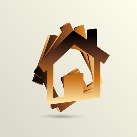 selling house: home icon design Illustration