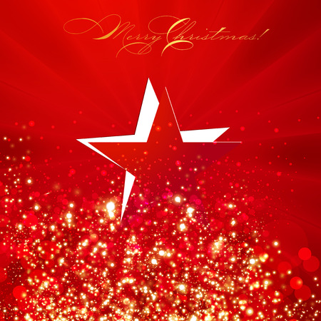 Modern abstract christmas background Illustration