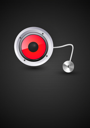 loud speaker: sound loud speaker vector illustration, easy all editable