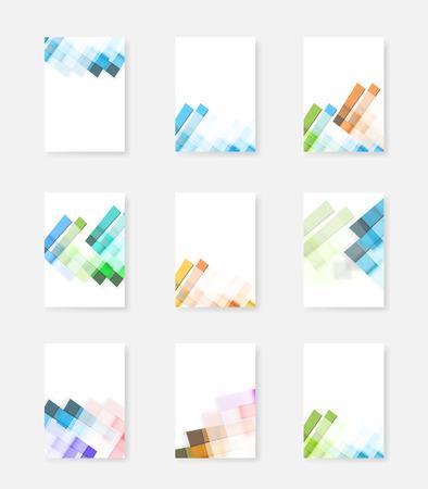 Vector brochure cover design templates, easy editable
