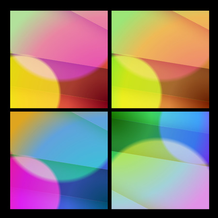 brilliancy: Abstract background set, easy editable