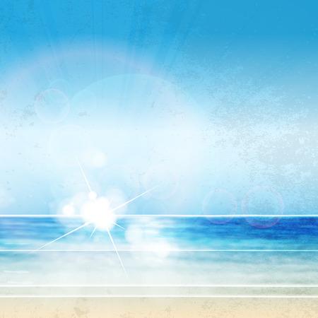 fryer: Sky summer poster easy editable